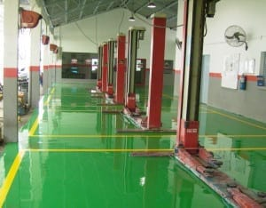 Epoxy Resin Floor