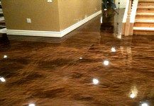 Metallic Resin Floor